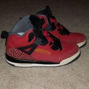 Black & Red Jordan Spiziks